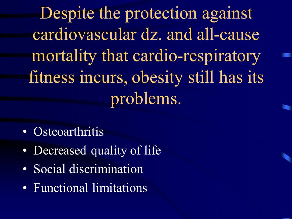 Despite the protection against cardiovascular dz.