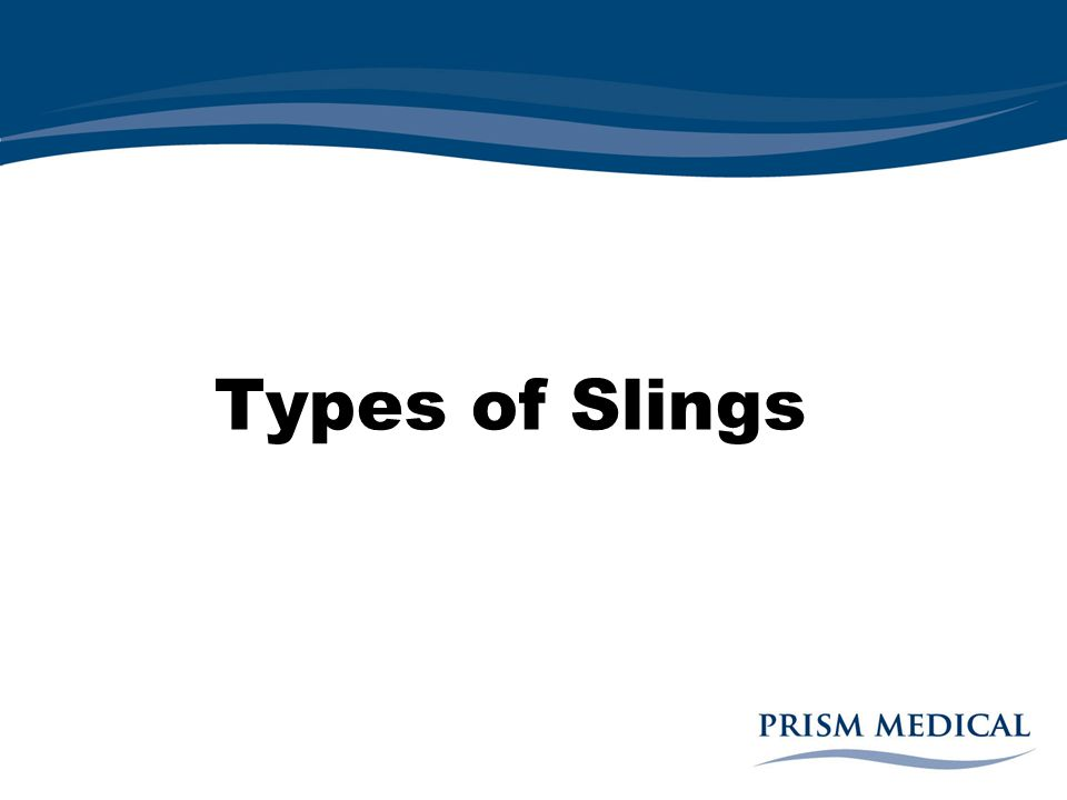 Types of Slings