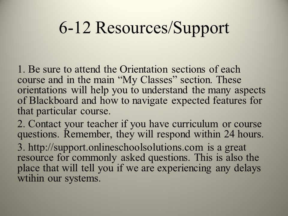 6-12 Resources/Support 1.
