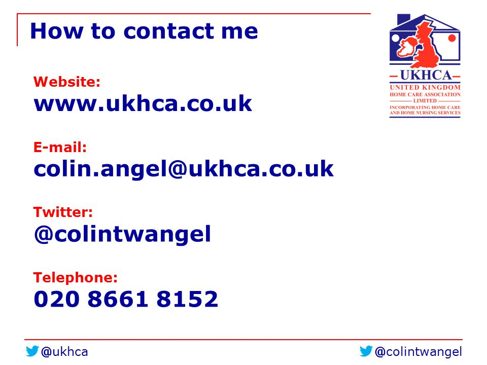 How to contact me Website:     Telephone: