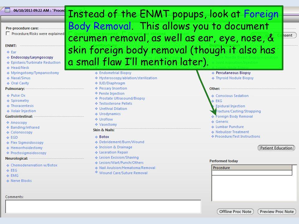 NextGen Procedure Template Problems: Fifty Shades of Evil