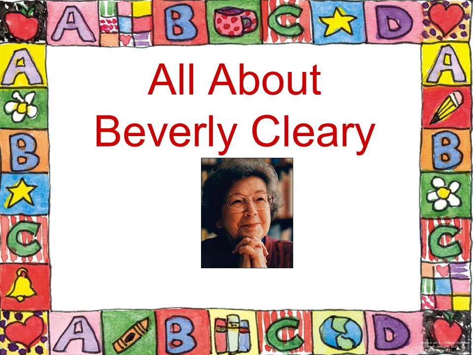 All About Beverly Cleary