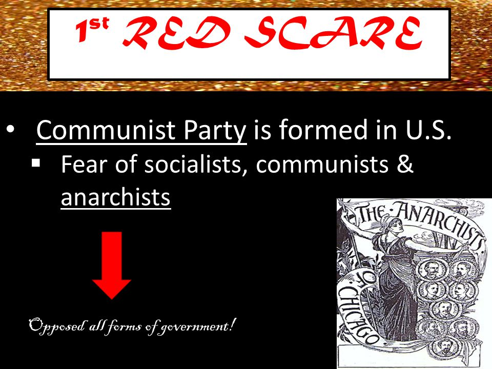 Communist Party is formed in U.S.