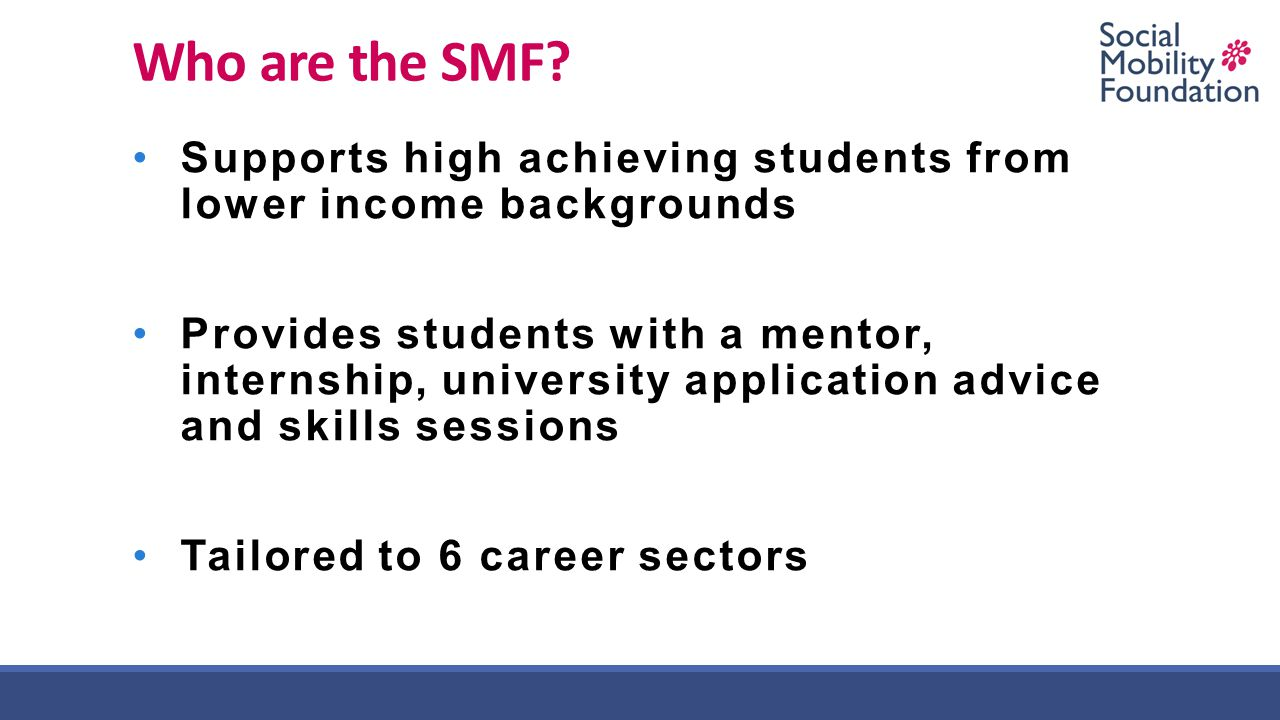 Who are the SMF.