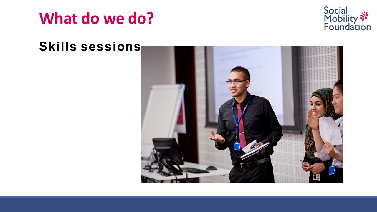 What do we do Skills sessions