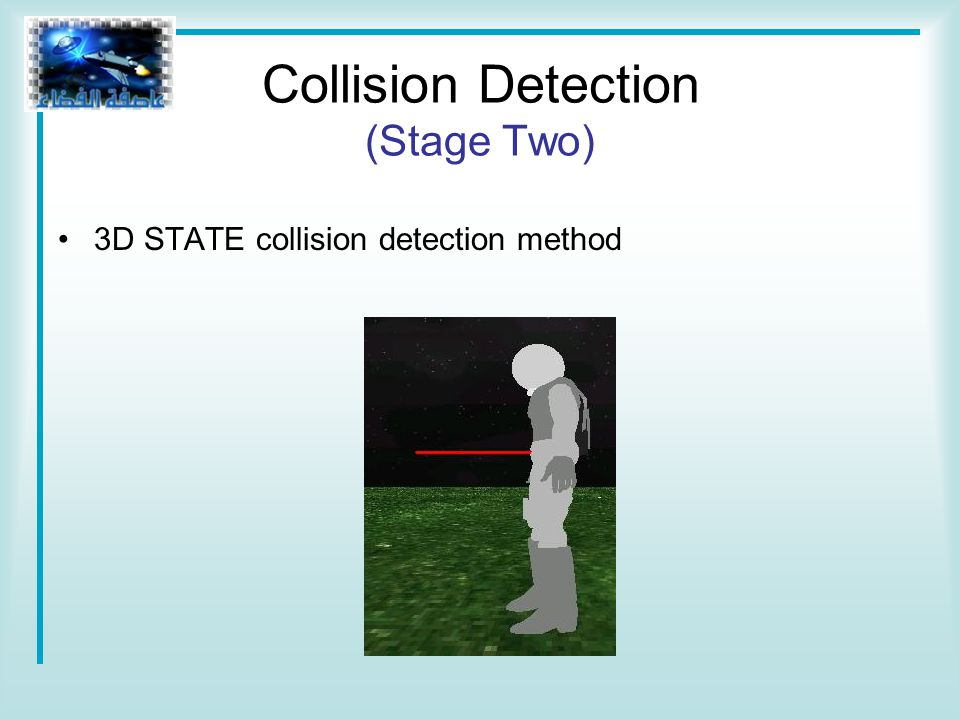 3D STATE collision detection method Collision Detection (Stage Two)