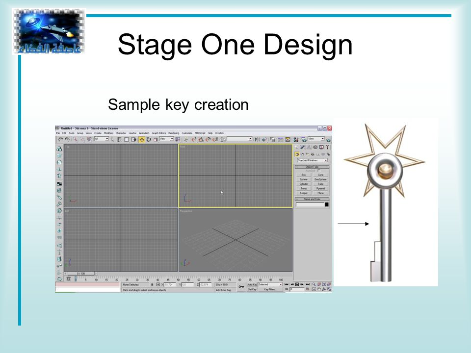 Stage One Design Sample key creation