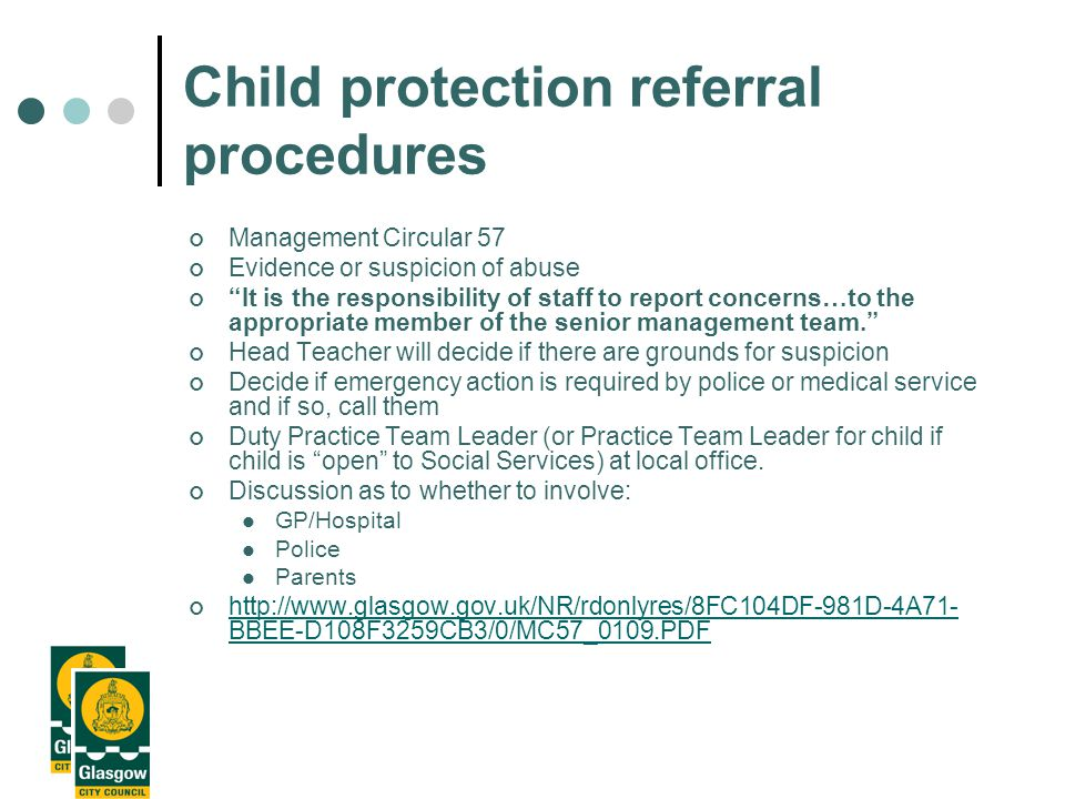 Child Protection 'It's Everyone's job' We all need to work together to ensure children are protected Audit Report 2002