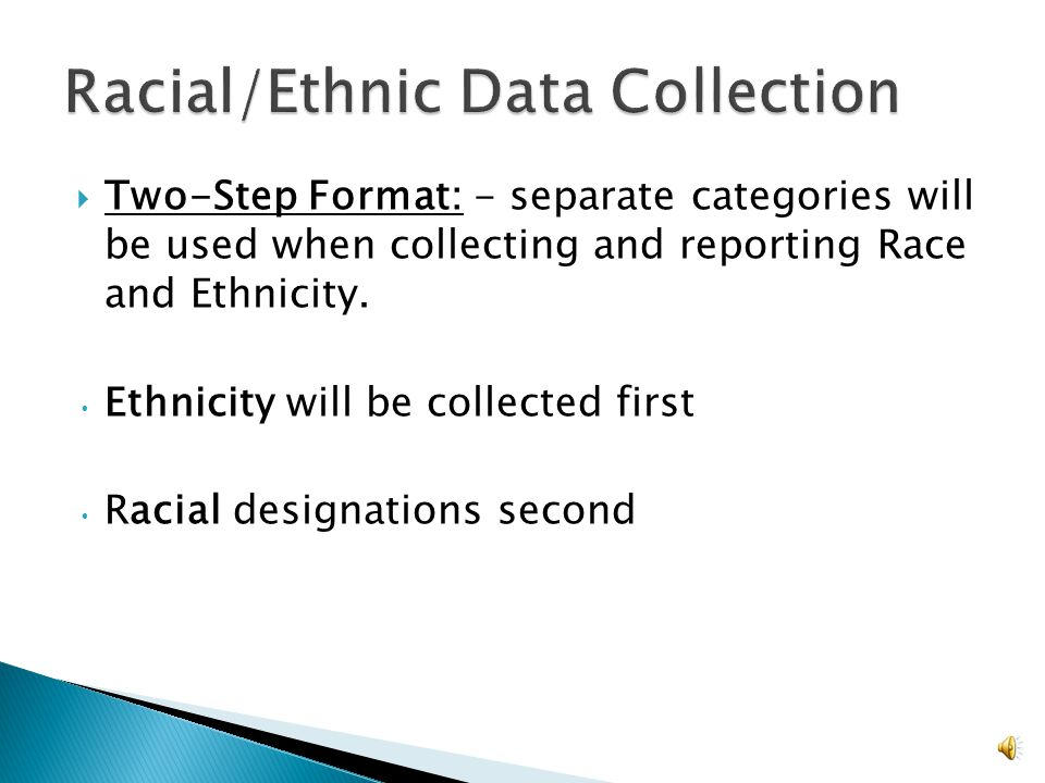 17 The purpose is to:  Determine how effectively FNS programs are reaching potential eligible persons and beneficiaries, ◦ State and local agencies should compare their participant data with potential eligible persons within their service areas.