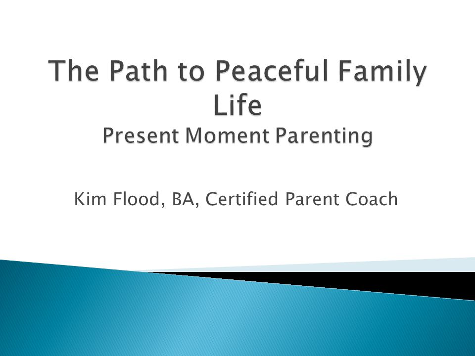 Kim Flood, BA, Certified Parent Coach