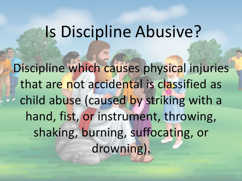 Physical Abuse: When an adult inflicts or allows infliction of physical injury by other than accidental means.
