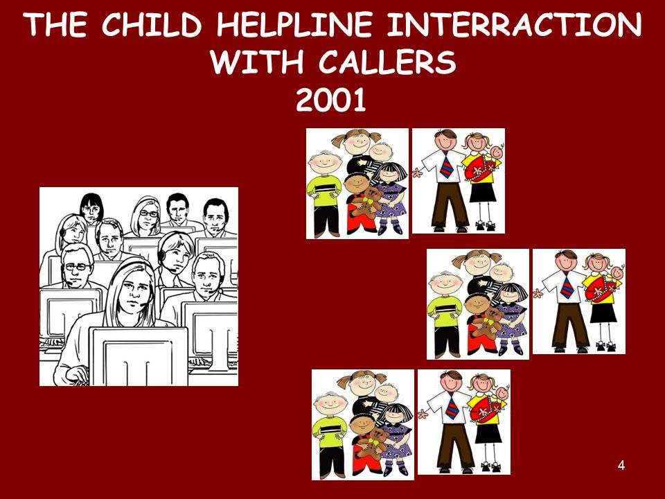 4 THE CHILD HELPLINE INTERRACTION WITH CALLERS 2001