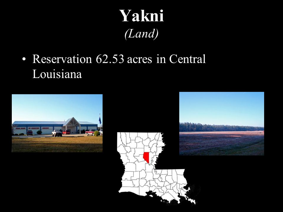 Reservation 62.53 acres in Central Louisiana Yakni (Land)