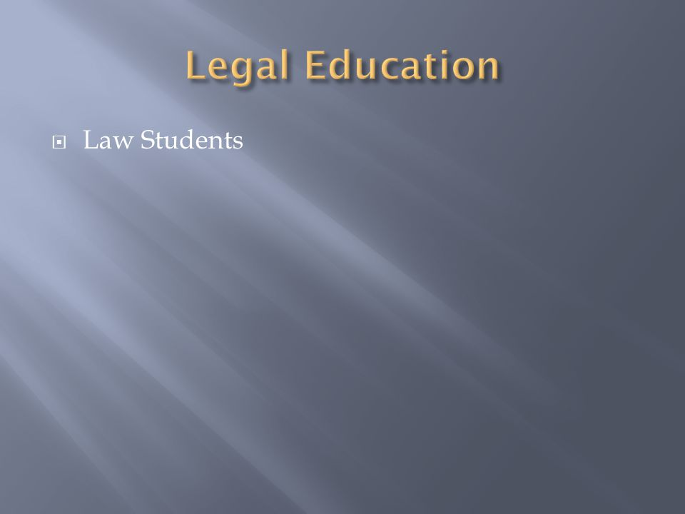  Law Students