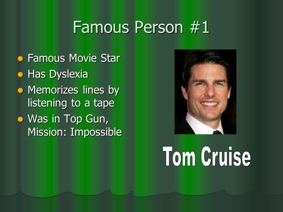 Celebrities With Disabilities
