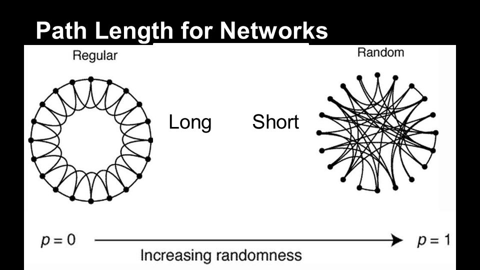 Path Length for Networks LongShort