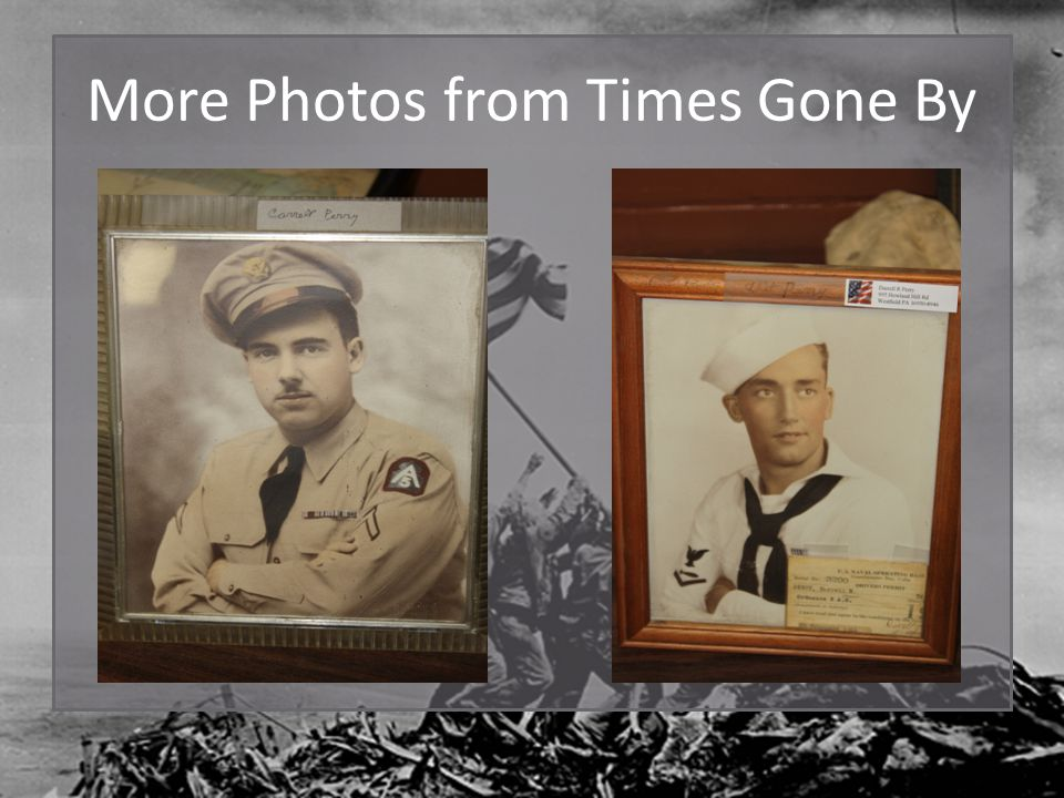 More Photos from Times Gone By