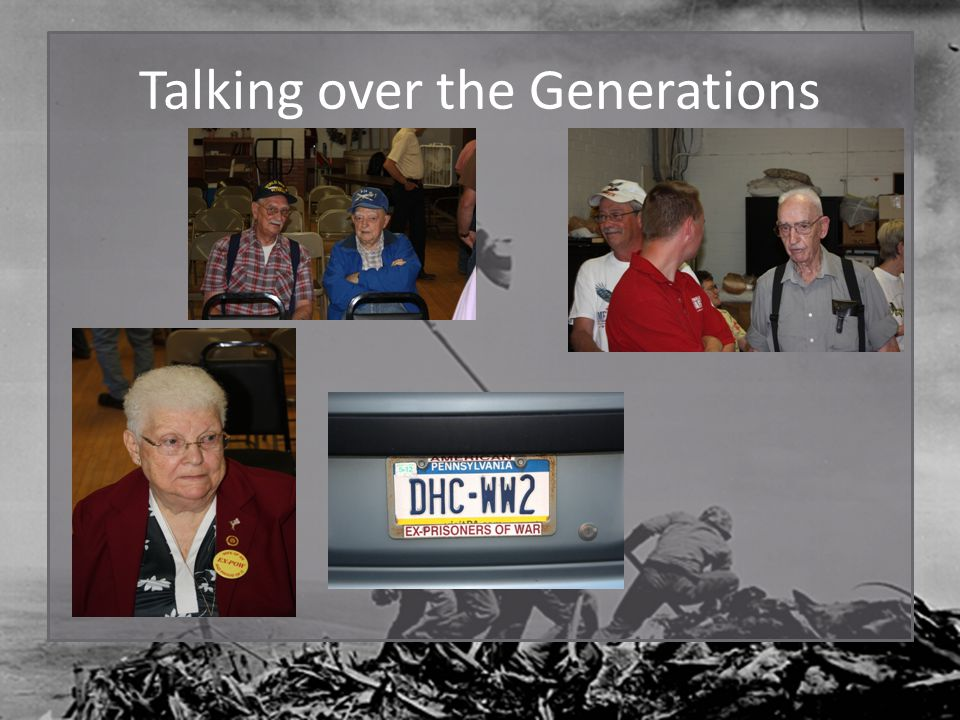 Talking over the Generations