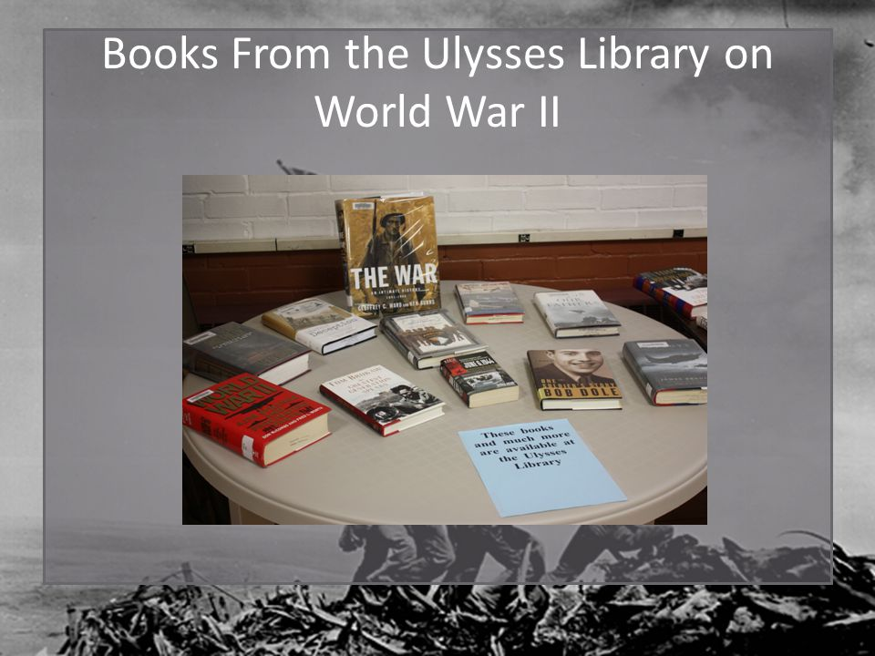Books From the Ulysses Library on World War II