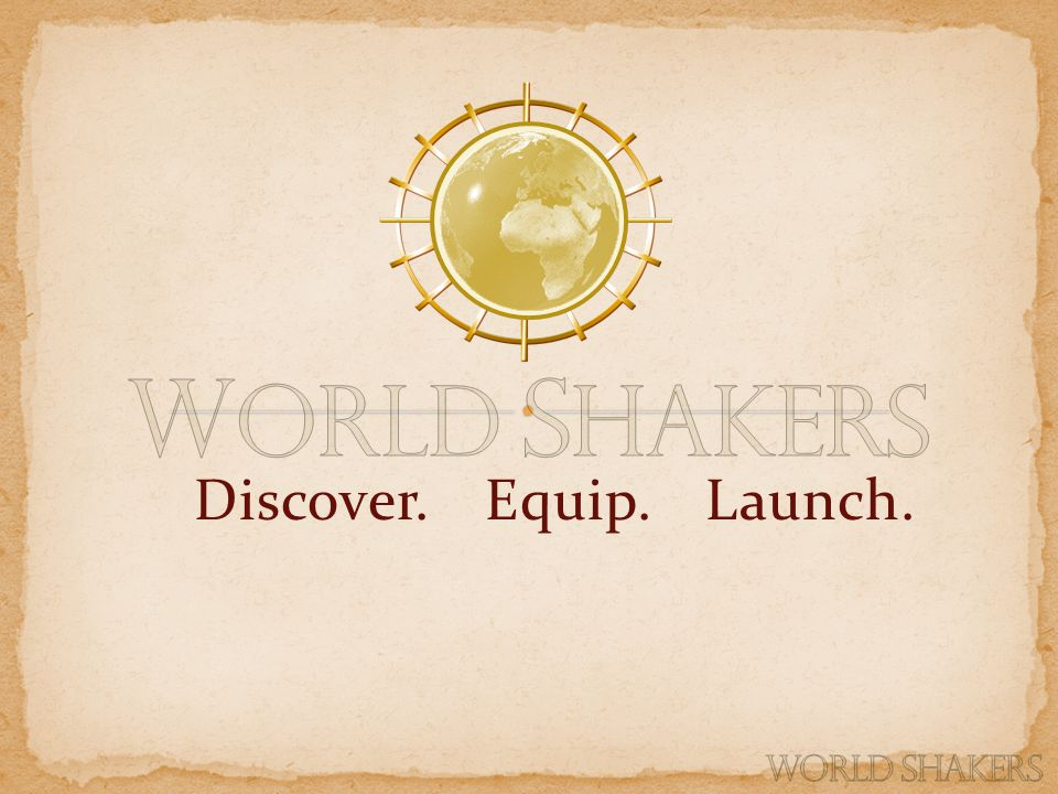 Discover. Equip. Launch.