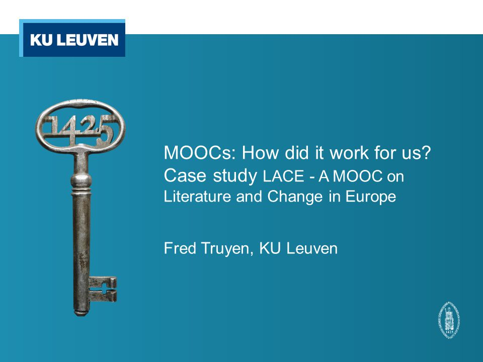MOOCs: How did it work for us.