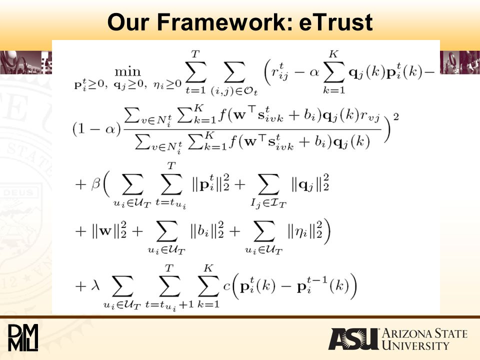 Our Framework: eTrust