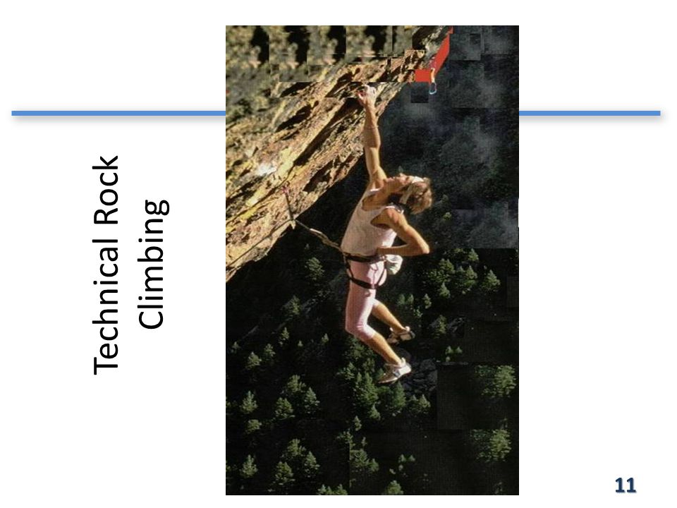 Technical Rock Climbing 11