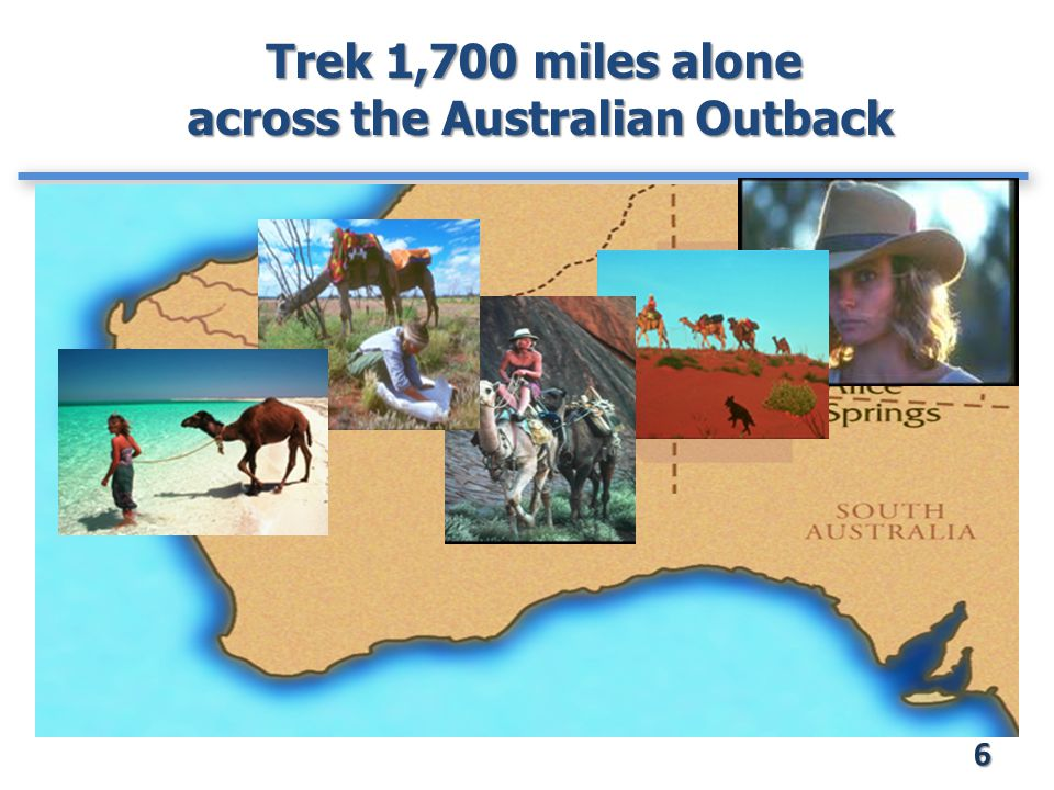 Trek 1,700 miles alone across the Australian Outback 6