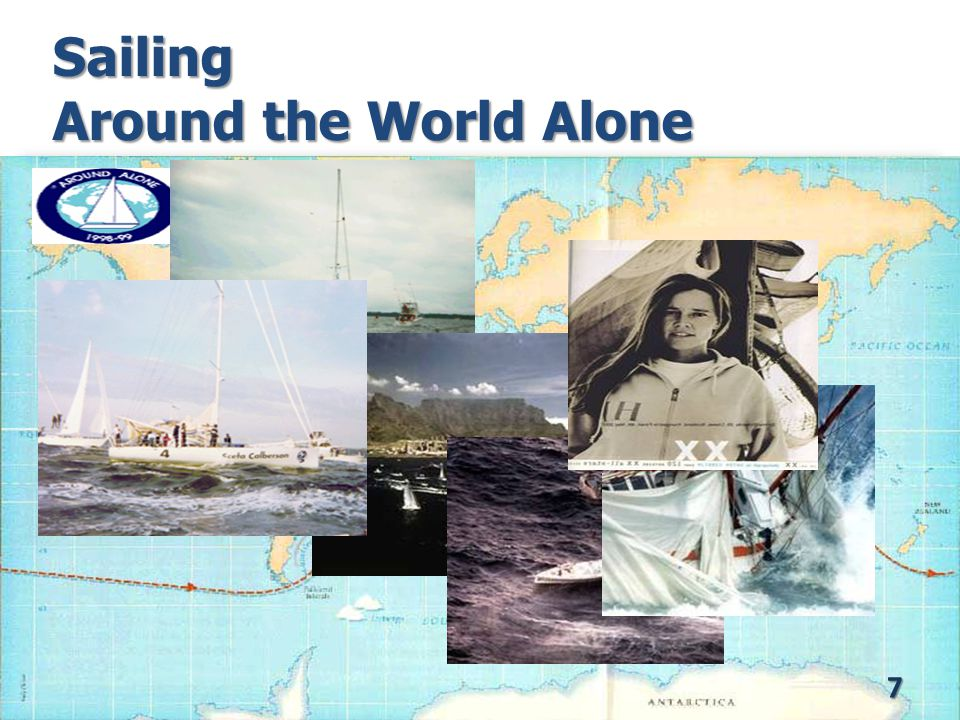 Sailing Around the World Alone 7