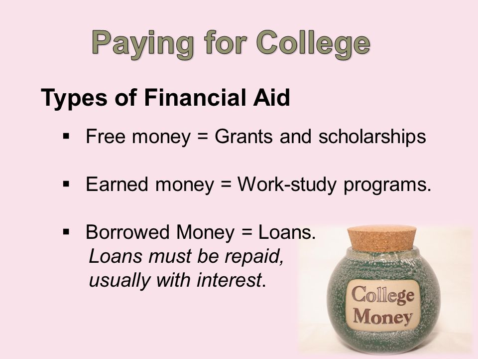 Who's Eligible for Financial Aid. You Are.