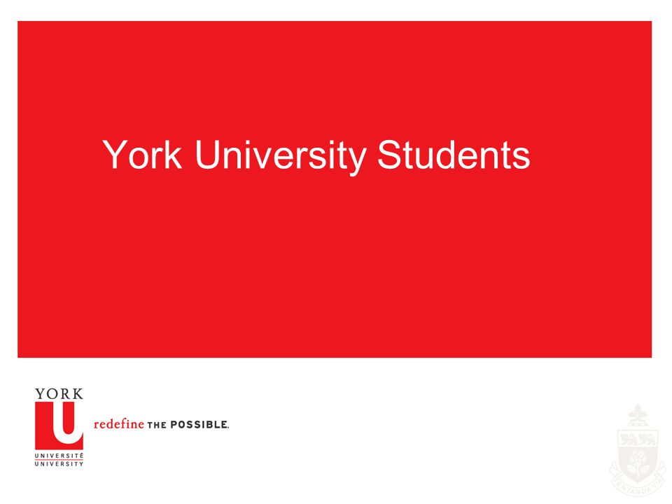 York University Students