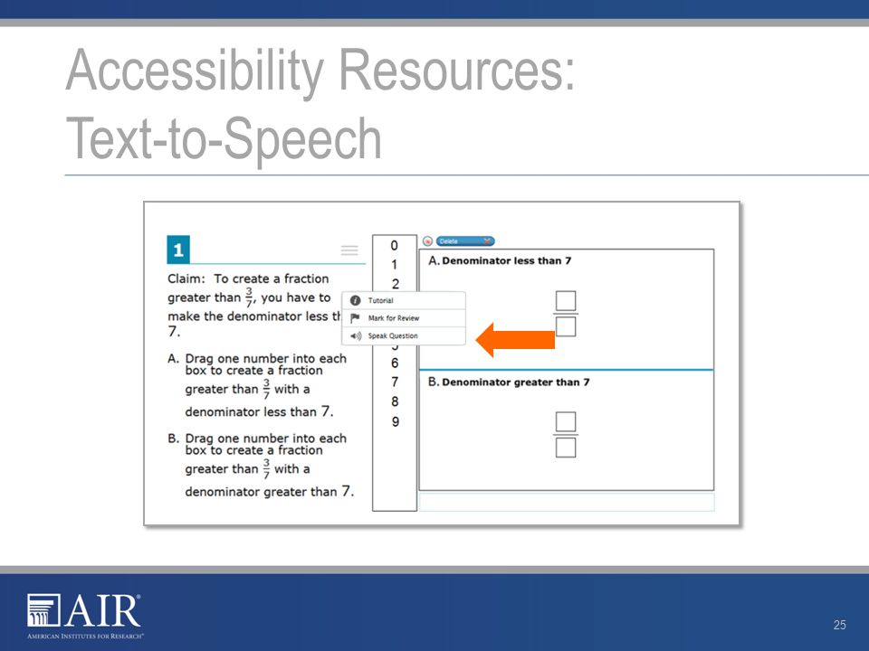 Accessibility Resources: Text-to-Speech 25