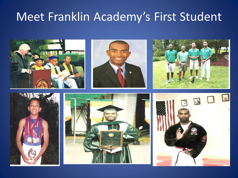 Franklin Academy Early Years  Full Circle- Franklin Academy's First Student presents Valedictorian with Diploma!!.