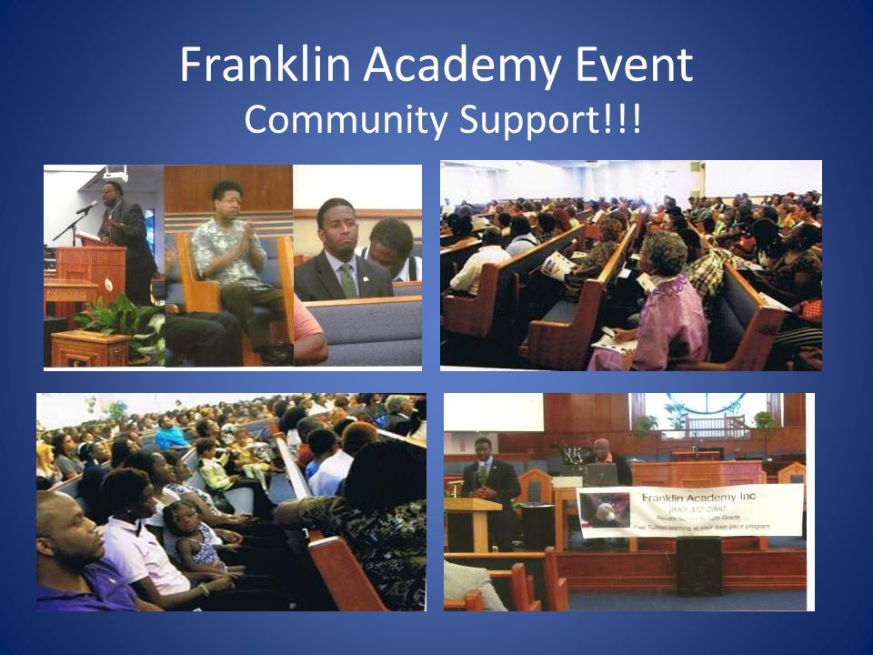 Franklin Academy Event The Evening's Entertainment  Carl McBride accompanied by Franklin Academy Students & Soloist Musical Selections-->  Ms.