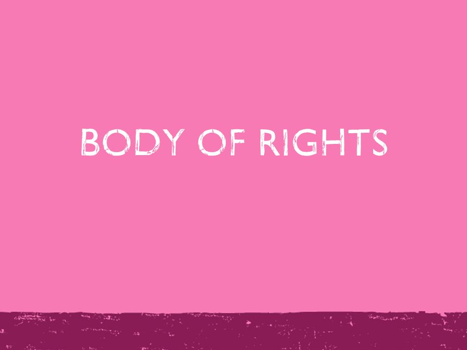 Body of Rights