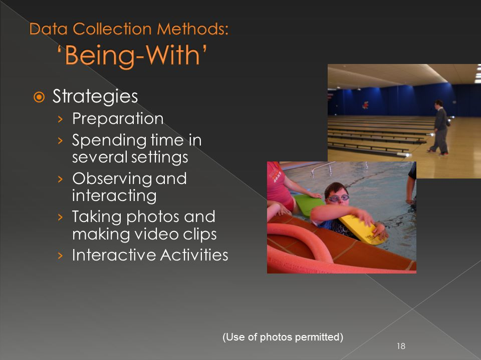 18  Strategies › Preparation › Spending time in several settings › Observing and interacting › Taking photos and making video clips › Interactive Activities (Use of photos permitted)