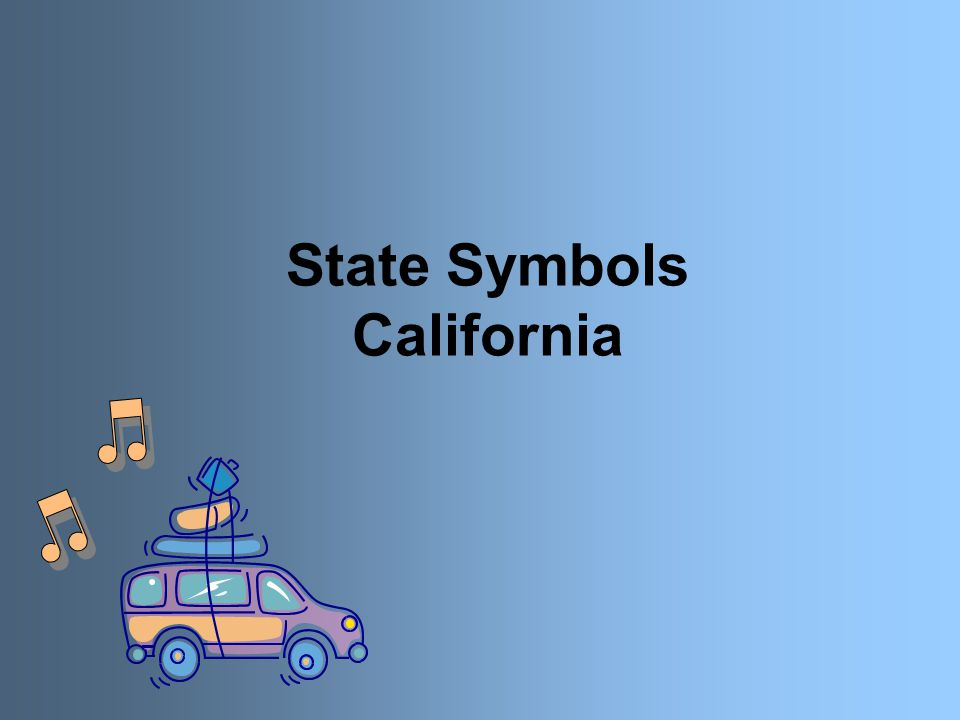 State Symbols California State Flag Californias State Flag Is