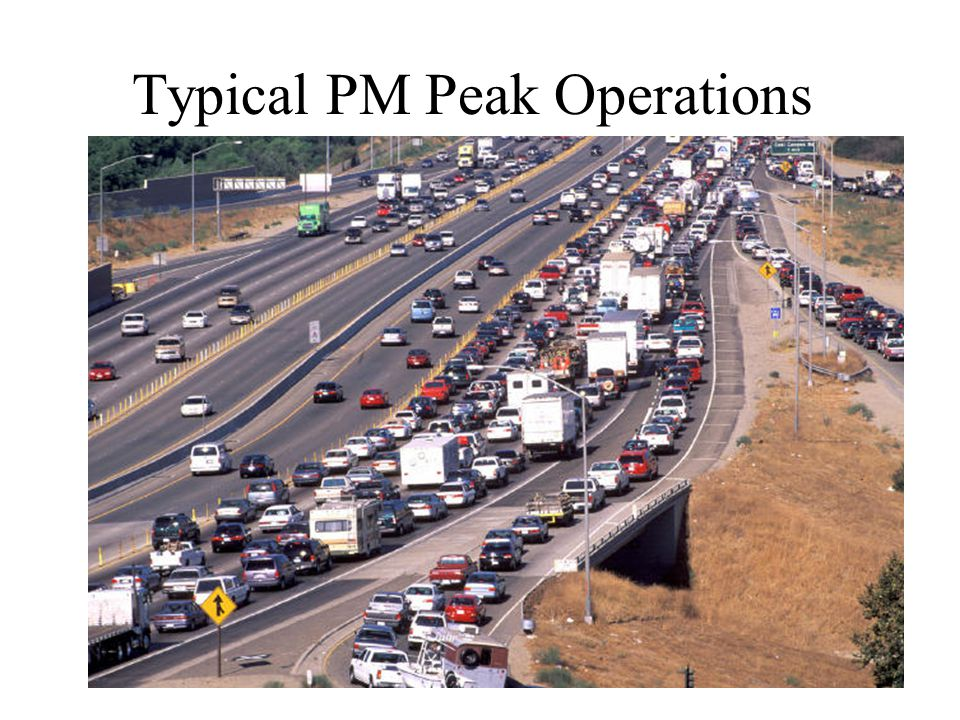 Typical PM Peak Operations