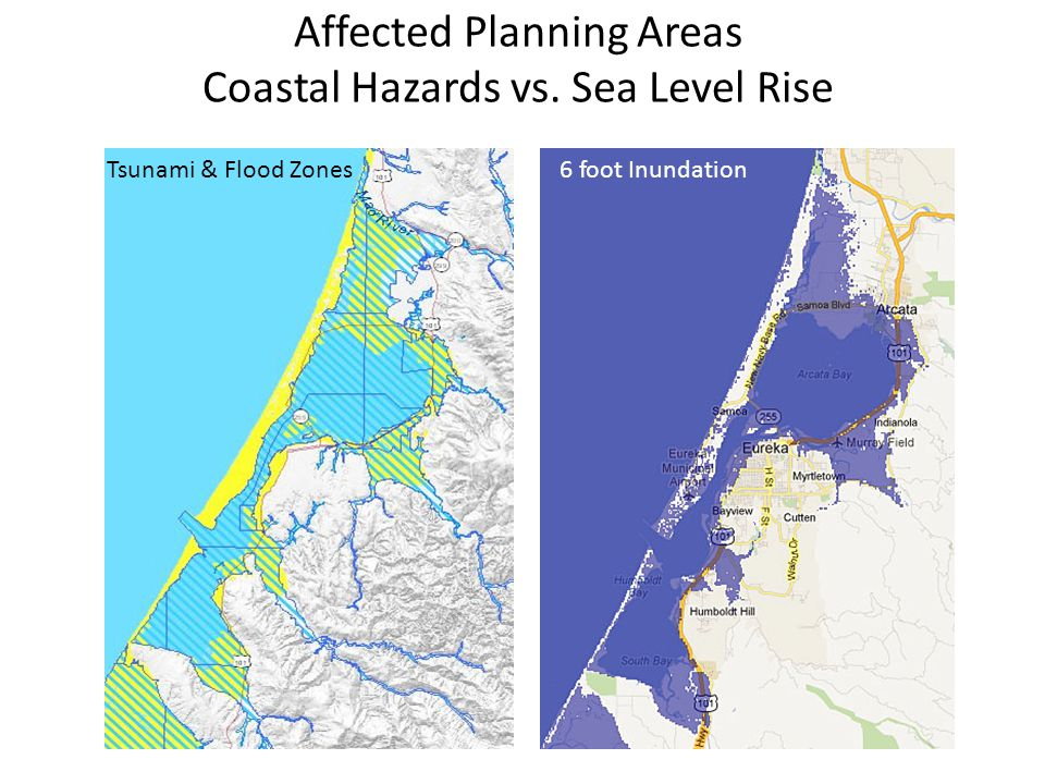 Affected Planning Areas Coastal Hazards vs.