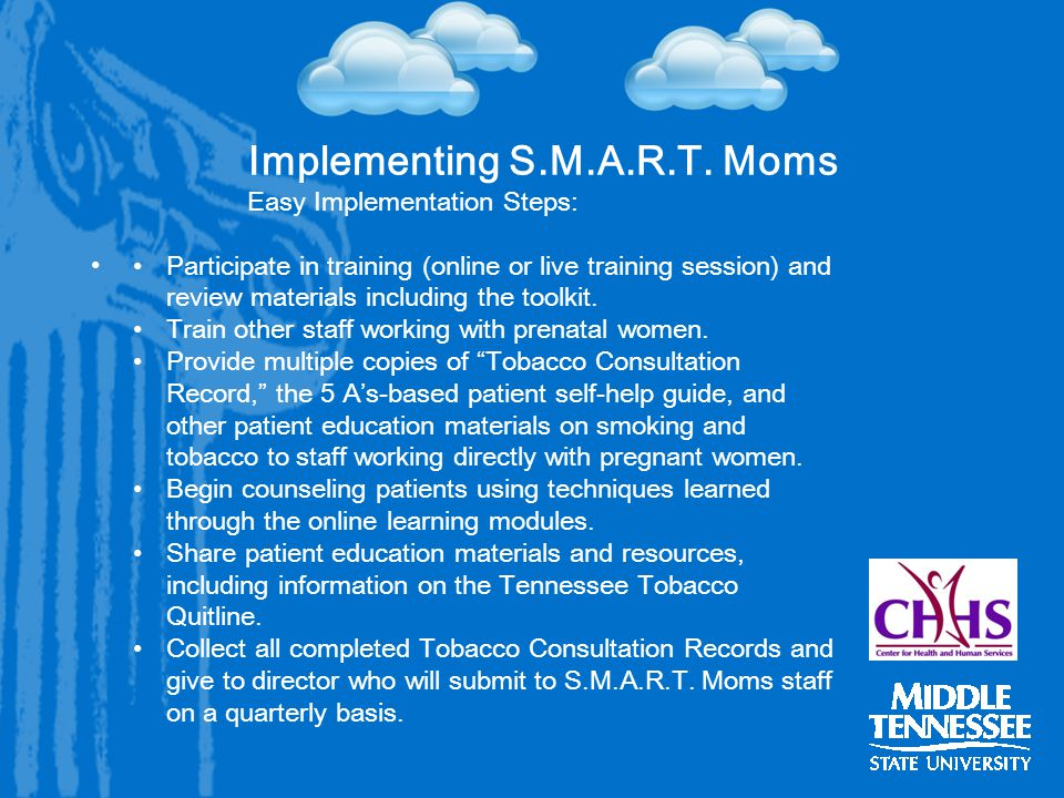 Implementing S.M.A.R.T.