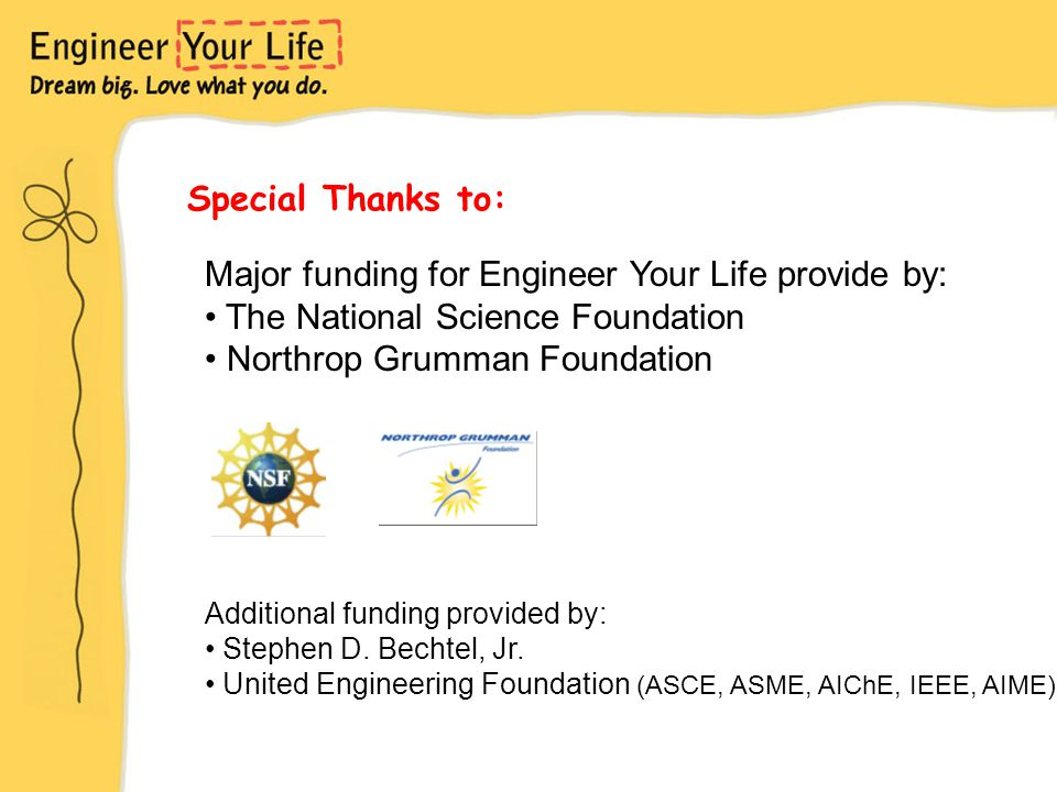 Special Thanks to: Additional funding provided by: Stephen D.
