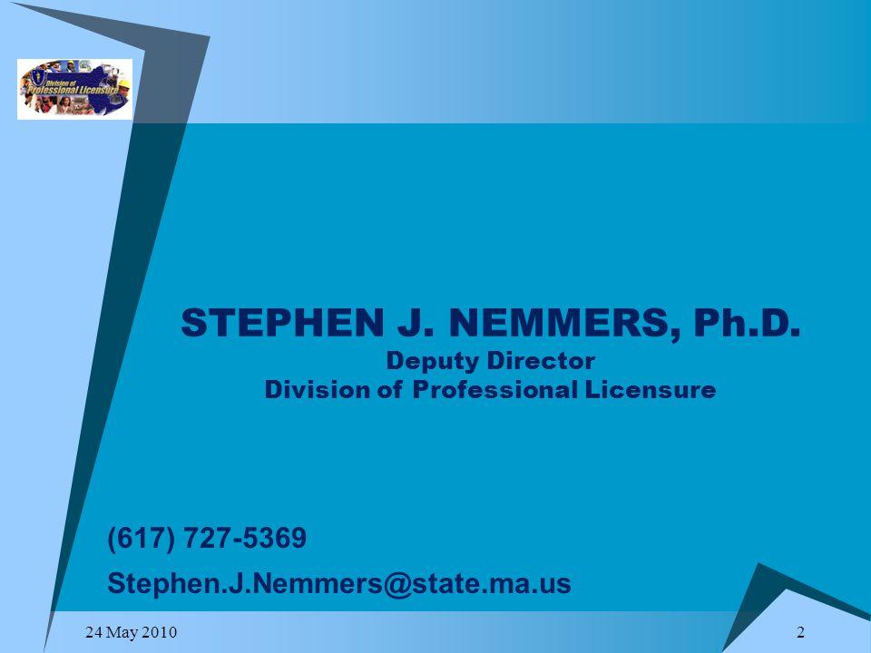 Ma Division Of Professional Licensure >> 1 Division Of Professional Licensure 24 May Ppt Download