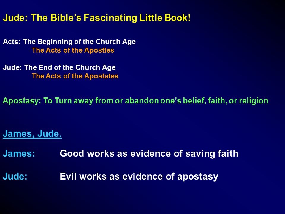 Jude: The Bible's Fascinating Little Book.