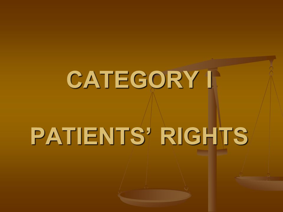 Patients Rights Post Test Presented By Patients Rights Advocacy