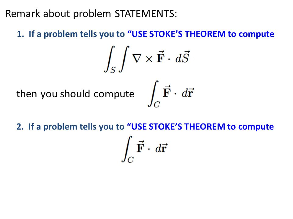 Remark about problem STATEMENTS: 1.