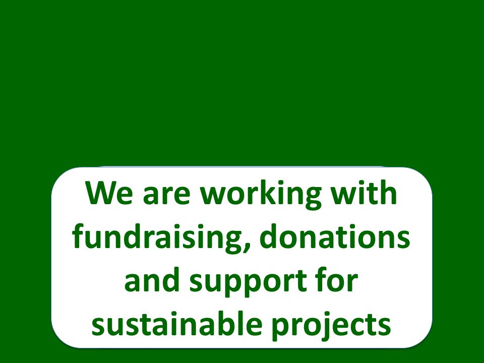 We are working for women and girls and for the environment We are working for women and girls and for the environment We are working at local, national and international levels We are working with fundraising, donations and support for sustainable projects