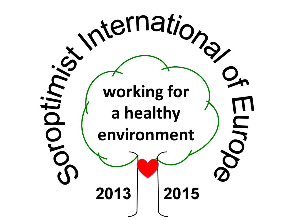 working for a healthy environment