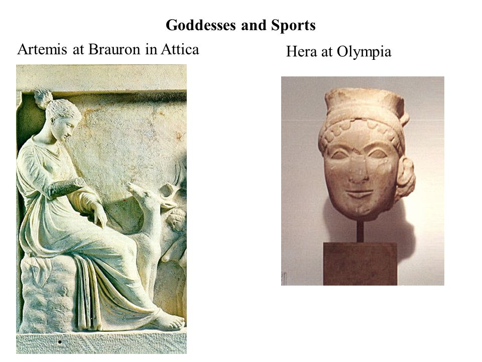 Women as Athletic Benefactors Goddesses as Sponsors Wealthy Women as Supporters of Athletics