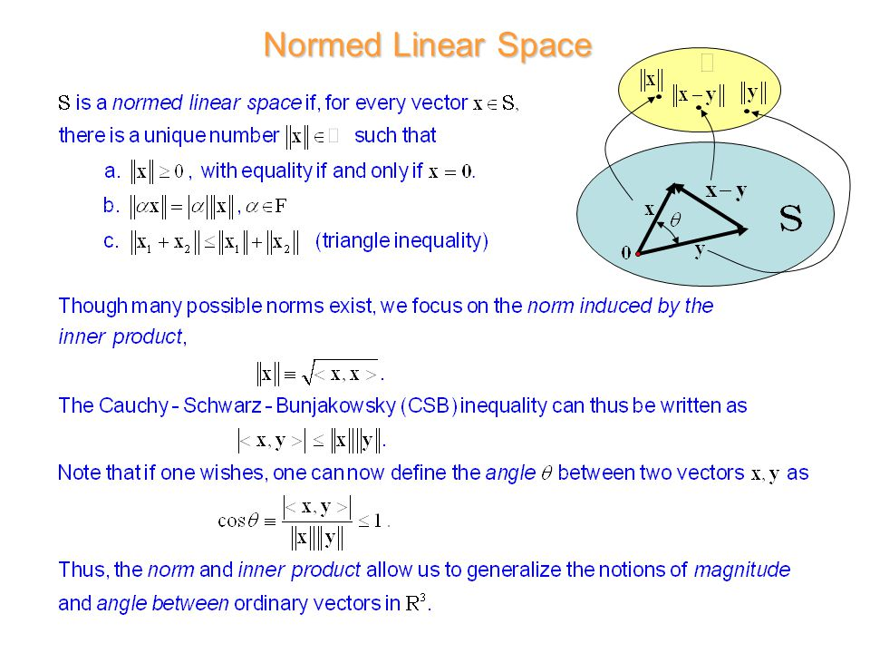 Normed Linear Space