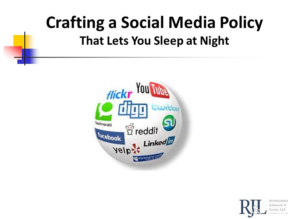 Crafting a Social Media Policy That Lets You Sleep at Night